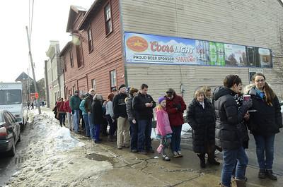 Ed Burke - The Saratogian 02/01/14 Chowderheads in search of super soups converge on Saratoga #saratogachowderfest
