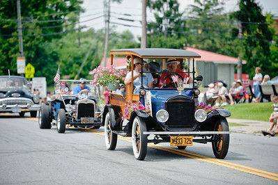 Eric Jenks - The Saratogian Hot rods and vintage cars put in an appearance during the Schuylerville Turning Point Parade Sunday, August 3, 2014.