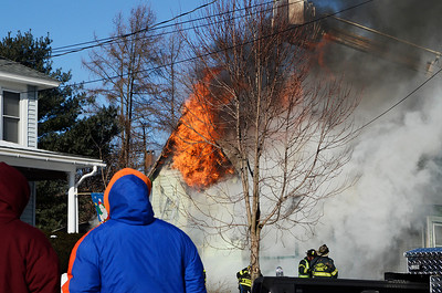 Erica Miller @togianphotog - The Saratogian.    On Tuesday morning on the 7th, 2013, a fire broke out at 15 Pearl Street in Victory Mills, just outside Schuylerville. Multiple agencies were called on scene including, Victory, Greenfield/Wilton, Schuyler Hose, Greenwich and Quaker Springs fire companies.   SAR-l-VictoryFire8