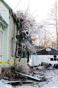 Erica Miller @togianphotog - The Saratogian.    On Tuesday morning on the 7th, 2013, a fire broke out at 15 Pearl Street in Victory Mills, just outside Schuylerville. Multiple agencies were called on scene including, Victory, Greenfield/Wilton, Schuyler Hose, Greenwich and Quaker Springs fire companies. The aftermath where the blaze was knocked out a little after 3 p.m.   SAR-l-VictoryFire17