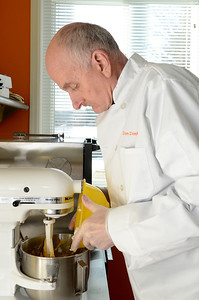 Erica Miller @togianphotog	- The Saratogian, In Clifton Park, Don Frame and son Donny create a creamsicle flavored cookie in their newly created kitchen located in the back of their house. The company, Don Don's Delights was opened two weeks before Thanksgiving.