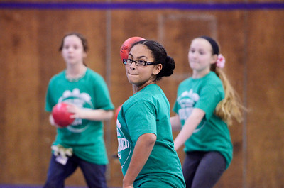 Erica Miller @togianphotog - The Saratogian:   Fifth grade students from all Ballston Spa elementary schools joined forces for the fifth annual 5th grade Survival Tournament. All students were able to play multiple dodgeball games against the other students from different schools, to make it easier to transition into their middle school.