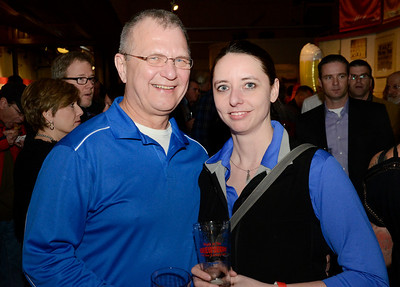 Ed Burke - The Saratogian 03/28/14 Kim Lambert and Dennis Kramer of Saratoga Springs attend Friday's Night at The Brewseum fundraiser at the New York State Military Museum. The event was sponsored by Friends of the New York State Museum and the Saratoga Lions Club.