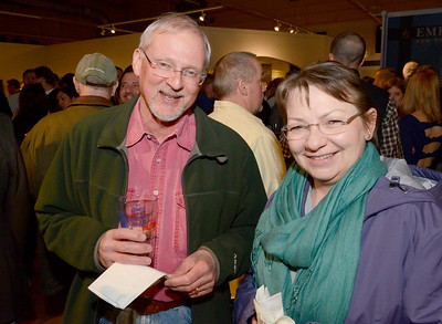 Ed Burke - The Saratogian 03/28/14 John Fuerst and Jane McKenney of Glenville attend Friday's Night at The Brewseum fundraiser at the New York State Military Museum. The event was sponsored by Friends of the New York State Museum and the Saratoga Lions Club.