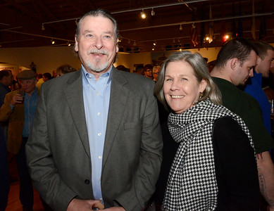 Ed Burke - The Saratogian 03/28/14 Mark and Mary Ellen Toomey attend Friday's Night at The Brewseum fundraiser at the New York State Military Museum. The event was sponsored by Friends of the New York State Museum and the Saratoga Lions Club. Bruce is a member of the Schroon Lake Lion's Club.