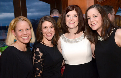 Ed Burke - The Saratogian 03/22/14 Supporters, from left: Sara Colman, Julie Fariello, Heather Lane and Carin Perkins attend Saturday's Treasure Island Birthday Bash fundraiser for the Children's Museum at Saratoga National Golf Club.