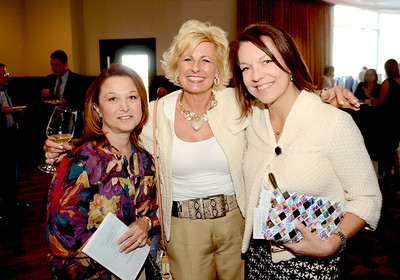Ed Burke - The Saratogian 04/24/14 Among those attending the Cocktails & Couture fundraiser at Saratoga National were, from left;  Jackie Thyrring, Laura Caponera and Jaime Binley. The event raises money for the Juvenile Diabetes Research Foundation.