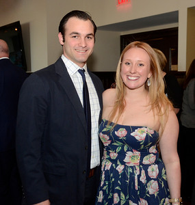 Ed Burke - The Saratogian 04/24/14 Among those attending the Cocktails & Couture fundraiser at Saratoga National were event co-chair Erica Dingeman and Matt O'Rourke. The event raises money for the Juvenile Diabetes Research Foundation.