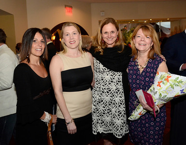 Ed Burke - The Saratogian 04/24/14 Among those attending the Cocktails & Couture fundraiser at Saratoga National were, from left: Trish Spain, Colleen Ash, event honoree Dr. Christine Alexander-Decker and Molly Scala. The event raises money for the Juvenile Diabetes Research Foundation.