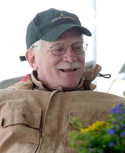 Ron Peters is the vice-president and treasuer of the Saratoga Springs Horse Show.