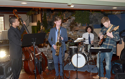 Ed Burke - The Saratogian 04/03/14 Enjoyable jazz was provided by a quartet of musicians from area high schools during the Shelters of Saratoga gala at Longfellows.