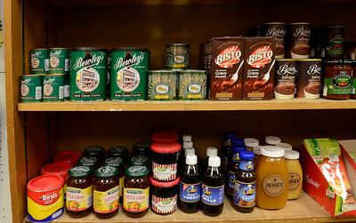 Ed Burke - The Saratogian 03/03/14 Foodstuffs from Ireland line the shelves at Celtic Treasures on Broadway.