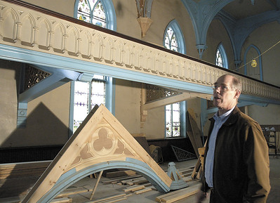 Developer Jeffrey Pfeil has been one of the driving forces in the renovation of Universal Preservation Hall. Pfeil is the treasurer of the organization. Ed Burke 4/14/06