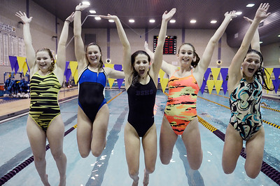 Erica Miller @togianphotog - The Saratogian    The Ballston Spa Swimming and Diving team had 5 girls that will be competing in the State Finals in Ithaca this weekend.   SAR-l-BspaSwim9