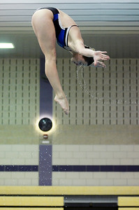 Erica Miller @togianphotog - The Saratogian    The Ballston Spa Swimming and Diving team had 5 girls that will be competing in the State Finals in Ithaca this weekend. Senior Addison Walkowiak worked on her dives in the pool on Thursday 11/20/13.   SAR-l-BspaSwim6