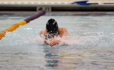 Erica Miller @togianphotog - The Saratogian    	The Ballston Spa Swimming and Diving team had 5 girls that will be competing in the State Finals in Ithaca this weekend. Junior Caitlyn Gardiner worked on her breast stroke in the pool on Thursday 11/20/13.   SAR-l-BspaSwim1