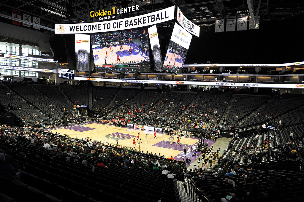 . Behind a furious fourth quarter comeback, the Vanden High School Lady Vikings captured their first ever state basketball title with a thrilling 64-61 victory over Mater Dei High School of Santa Ana. Joel Rosenbaum -- The Reporter