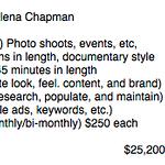 2015 Plan for Alena Chapman