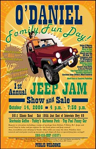 Jeep Jam 06 Poster