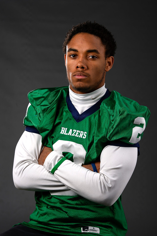 . ATH Austin Conway, Overland, Jr. All Colorado football team 2013. (John Leyba/The Denver Post)