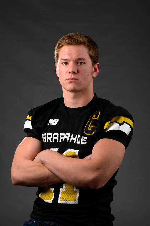 . TE Ethan Brunhofer, Arapahoe, Sr. All Colorado football team 2013. (John Leyba/The Denver Post)