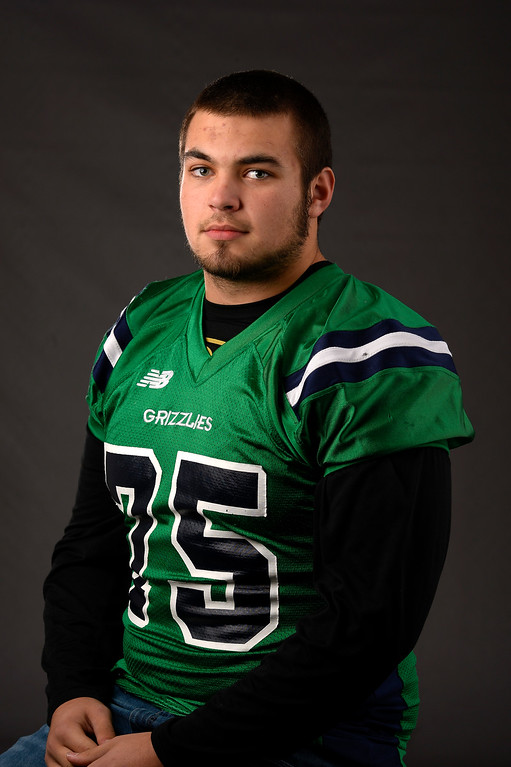 . OL Sam Jones, ThunderRidge, Sr. All Colorado football team 2013. (John Leyba/The Denver Post)