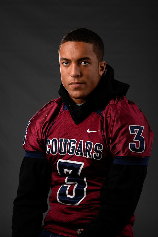 . S Evan White, Cherokee Trail, Sr. All Colorado football team 2013. (John Leyba/The Denver Post)