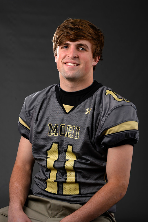 . S Jay MacIntyre, Monarch, Sr. All Colorado football team 2013. (John Leyba/The Denver Post)