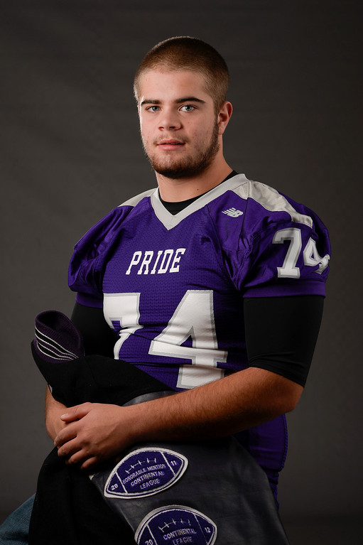 . OL Jamin Smith, Douglas County, Sr. All Colorado football team 2013. (John Leyba/The Denver Post)