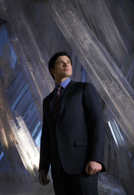 ". In this undated publicity image released by The CW, Tom Welling portrays Clark Kent in a scene from ""Smallville.\"" The decade-long television series wraps up Friday, May 13, 2011 with a two-hour series finale that is expected to put its version of the hero in cape and tights for the first time. (AP Photo/The CW, Michael Courtney)"