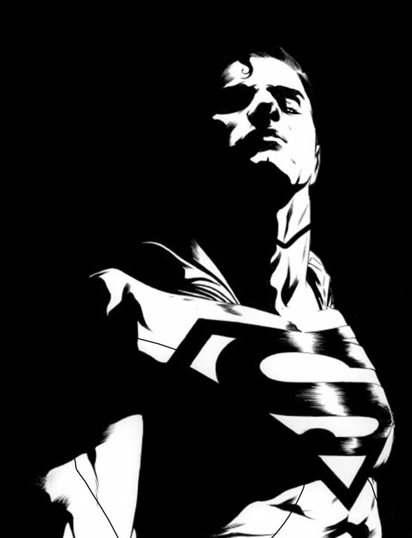 ". This black and white sketch released by DC Entertainment shows an image of Superman.  DC Entertainment says it will unveil a new ongoing series focusing on Superman and Batman, two of the publisher\'s best-known and revered heroes. ""Batman/Superman\"" is set to debut in June and will be written Greg Pak and illustrated by Jae Lee. It will focus on how the two iconic heroes first met in the publisher\'s relaunched universe, dubbed The New 52. (AP Photo/DC Entertainment)"