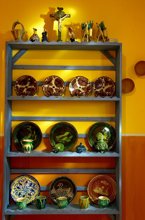 """. Museo de las Americas will soon open its new exhibit \""""La Cocina\""""on October 17th. Kitchenware was photographed in a preview on Friday, October 11, 2013.  (Photo By Cyrus McCrimmon/ The Denver Post )"""