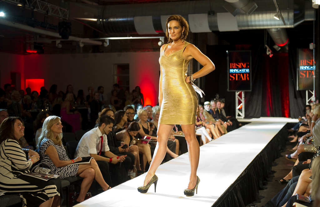 . DENVER, CO - SEPTEMBER 6:    Denise Plante host of  at the Fashion Group International of Denver\'s Rising Star 2013 fashion show on Friday September 6, 2013  at the McNichols Building in Denver. (Photo By Cyrus McCrimmon/The Denver Post )