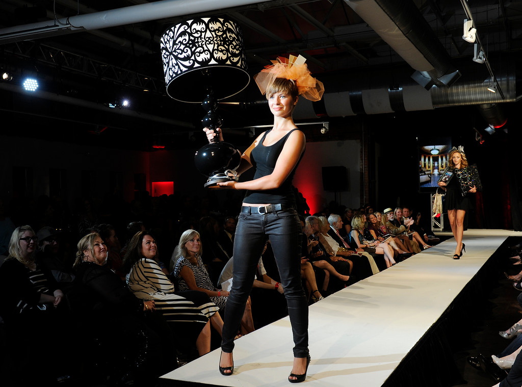 . DENVER, CO - SEPTEMBER 6:   The interior design of Pam Kelker of Castles Interiors  was a finalist at the Fashion Group International of Denver\'s Rising Star 2013 fashion show on Friday September 6, 2013  at the McNichols Building in Denver. (Photo By Cyrus McCrimmon/The Denver Post )
