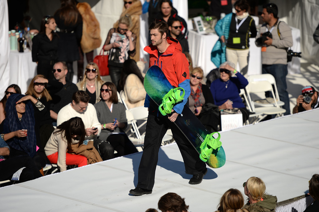 . Snowlink.com Focus on Sustainabilty. International Fashion Week 2014. Aspen Colorado. March 14. 2014. (Photo by Hyoung Chang/The Denver Post)