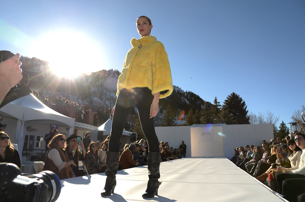 . Gorski. Apres Ski Stage of Aspen International Fashion Week 2014. Aspen Colorado. March 14. 2014. (Photo by Hyoung Chang/The Denver Post)