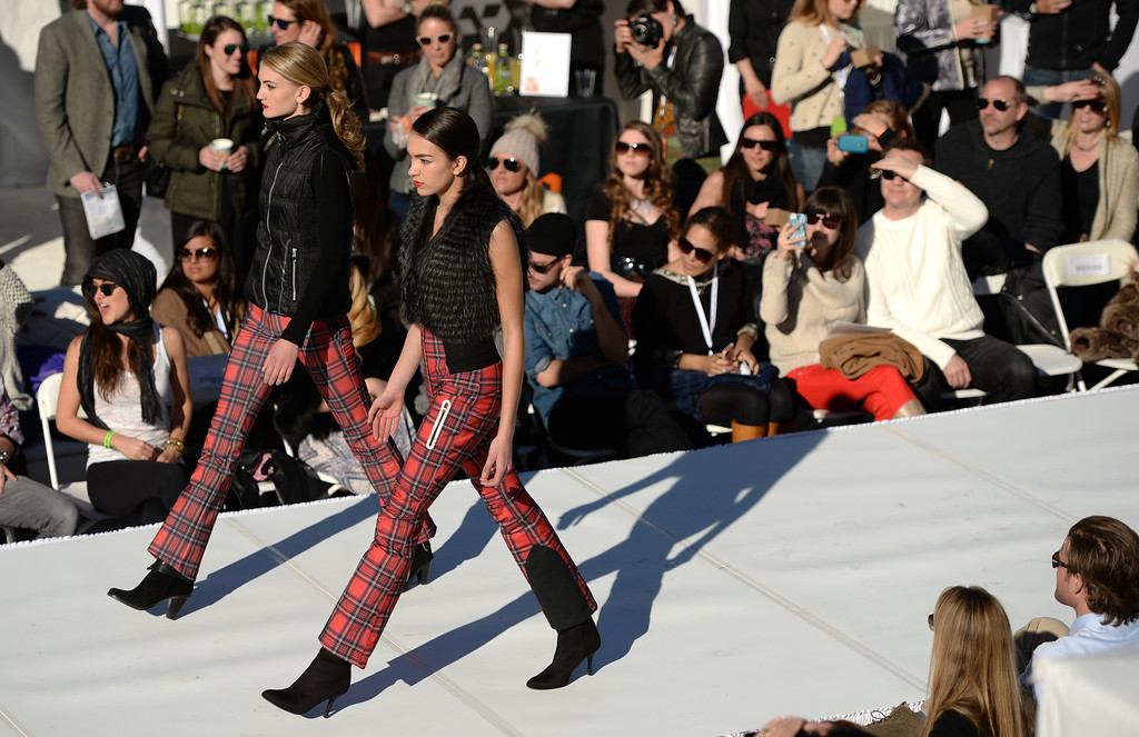 . F/W 14.15 Mega Trends presented by Stylesight. International Fashion Week 2014. Aspen Colorado. March 14. 2014. (Photo by Hyoung Chang/The Denver Post)