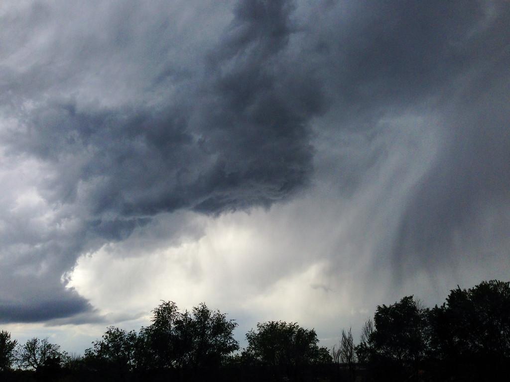 . Clouds over Aurora, Colorado Thursday, May 22, 2014. (Joe Amon, The Denver Post)