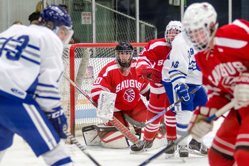 Saugus at Danvers hockey 05