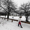 Jwilson-walk in snow Boston St