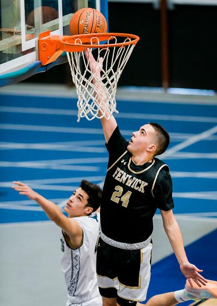 1 12 20 Bishop Fenwick at Peabody boys basketball 9