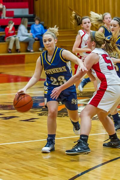 Southern Girls vs Fannett-Metal Basketball