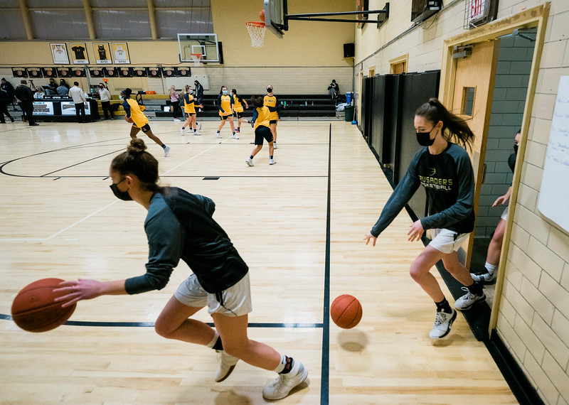1 22 21 St Marys at Bishop Fenwick girls basketball 1