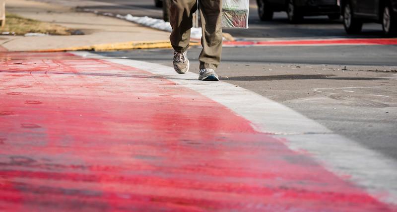 Saugus crosswalk