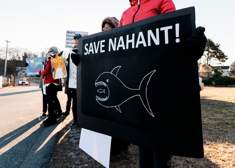 1 30 20 Nahant North Eastern protest 11