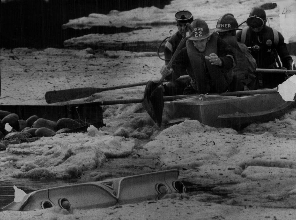 . JUN 8 1969 - Floods, Denver.  (Steve Larson/ The Denver Post)