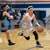 Sam Buckner for Shaw Media.<br /> Jesi Nay dribbles past Sycamore defenders on Tuesday January 3, 2017.