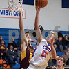 Sam Buckner for Shaw Media.<br /> Will Franson shoots a layup on Wednesday January 3, 2018.
