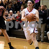 Sam Buckner for Shaw Media.<br /> Olivia Turner goes for a layup against Earville-Leland on Friday January 6, 2017.