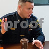 Eric Olson - eolson@shawmedia.com<br /> DeKalb County Sheriffs Office Chief Deputy Andy Sullivan talks during an interview at the Daily Chronicle on Friday, Jan. 6, 2017 in DeKalb.